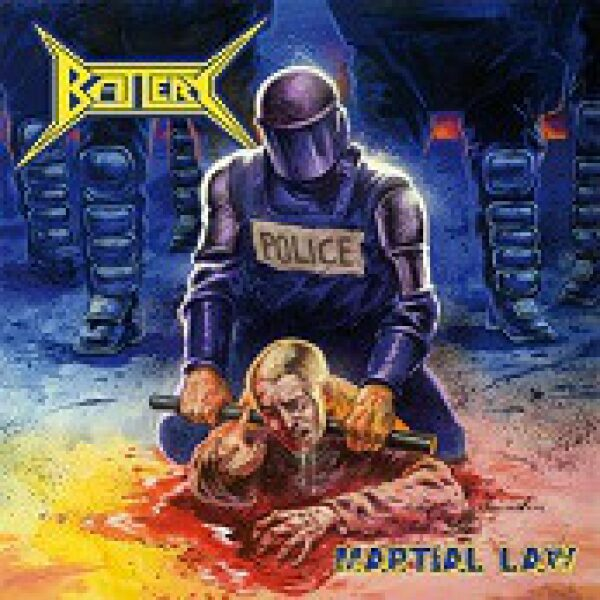 Battery - Martial law - CD