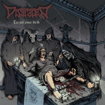 Disgracer-Cursed Since Birth-CD