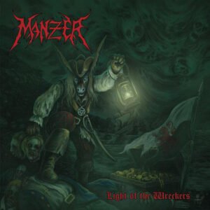 Manzer - Light of the Wreckers - CD