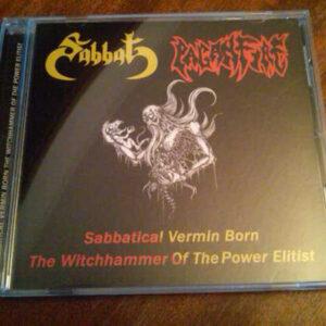 SABBAT/PAGANFIRE Sabbatical Vermin Born - The Witchhammer Of The Power Elitist