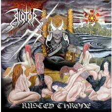 Riotor - Rusted throne - CD