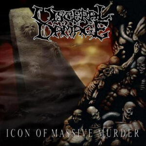 Visceral Damage - Icon of Massive Murder - CD