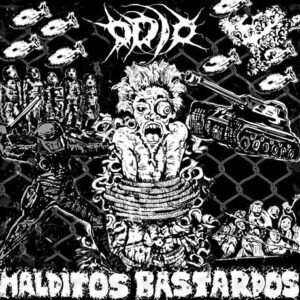 Odio - Malditos Bastardos - CD