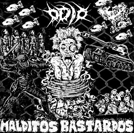 Odio - Malditos Bastardos - CD