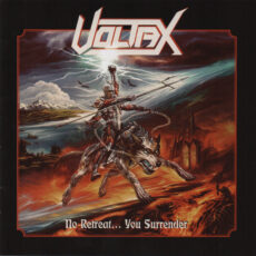 Voltax ‎– No Retreat... You Surrender - CD