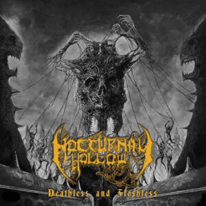 Nocturnal Hollow ‎- Deathless And Fleshless - CD
