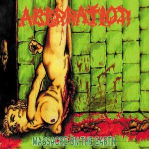 ABERRATION - Massacre On The Earth - CD