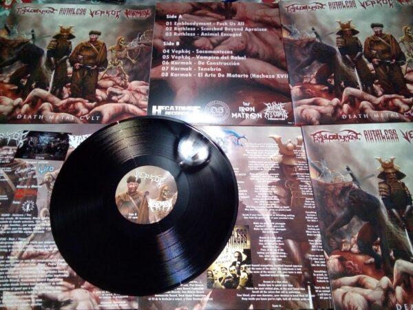 DEATH METAL CULT – Embloodyment / Ruthless / Vepkoc / Karmak