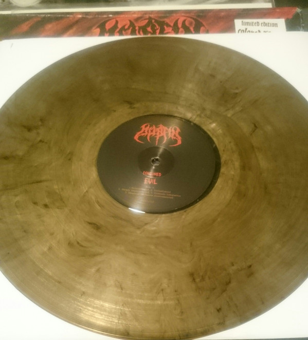 Morfin ‎- Consumed By Evil - LP - Marbled