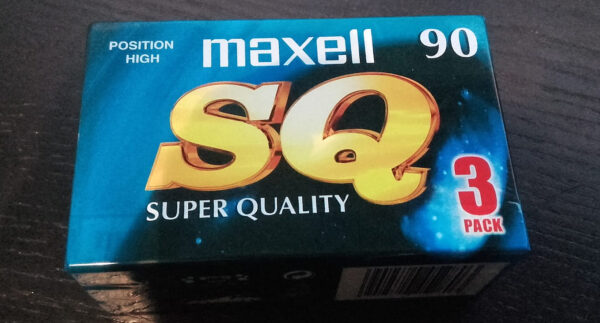 Maxell - SQ - 90 Position High (Pack of 3)