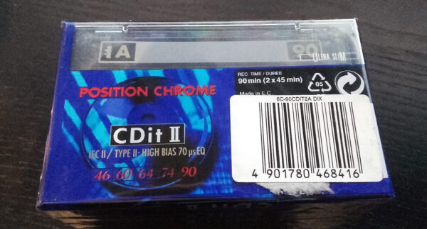 Sony - CDit II - Position Chrome 90-2