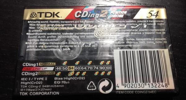 TDK - CDing 2 - Position Chrome 54- Cassette