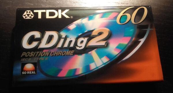 TDK - CDing 2 - Position Chrome 60 - Cassette